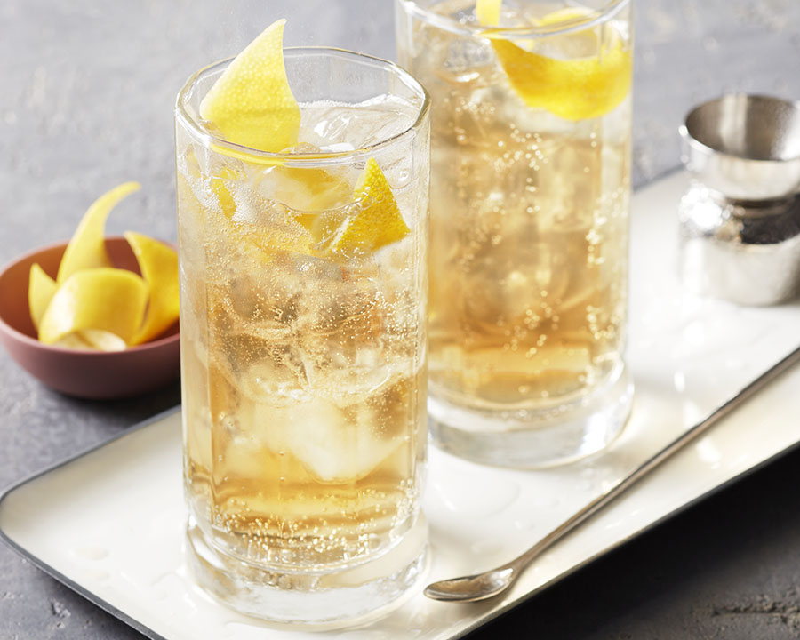 Ginger Vanilla Highball