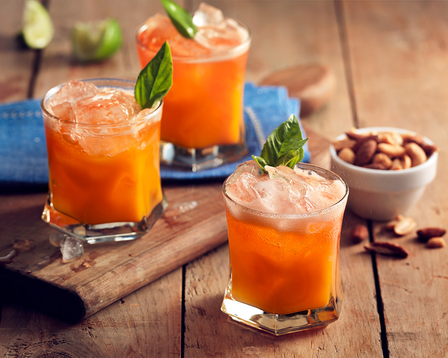Delectable Orange Dream Mocktail
