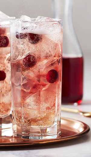 Cranberry Rye & Ginger