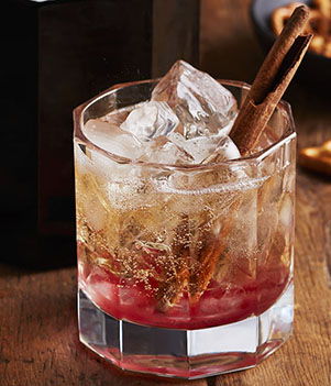 Spiced Cranberry & Bourbon