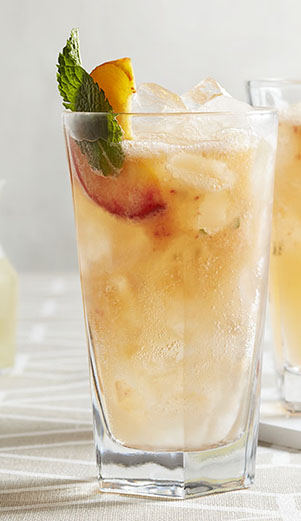 Peach & Ginger Cooler