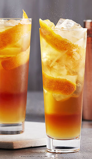 Café infusé à froid G & T (Gin Tonique)