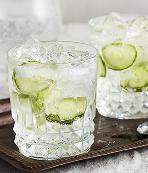 Cucumber G & T Punch