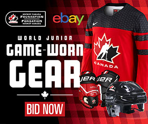 2019 World Juniors eBay auction