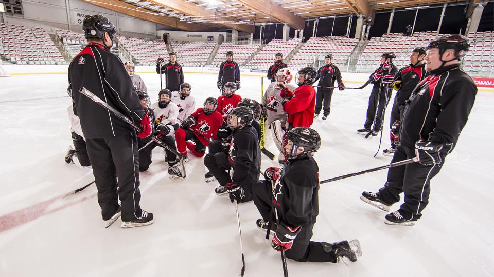 Coaching players listening