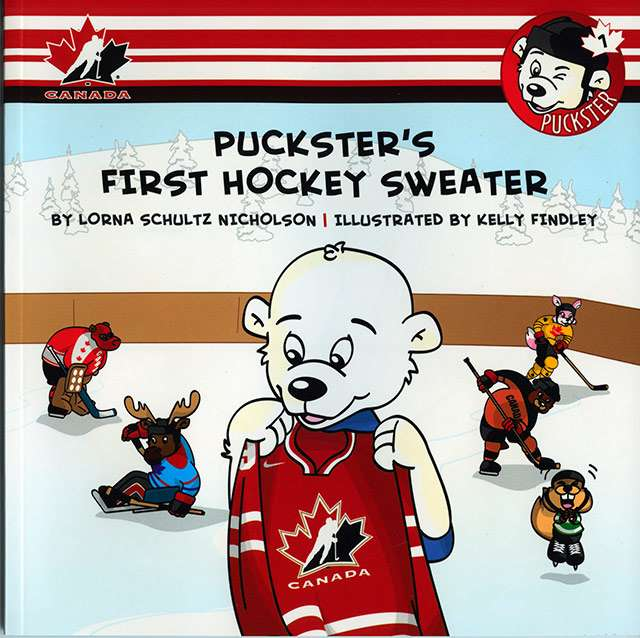 puckster book 01 first sweater cover