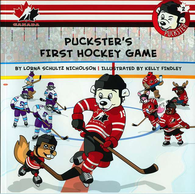 puckster book 02 first game cover