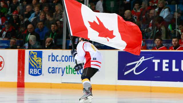 canadian flag photo 640