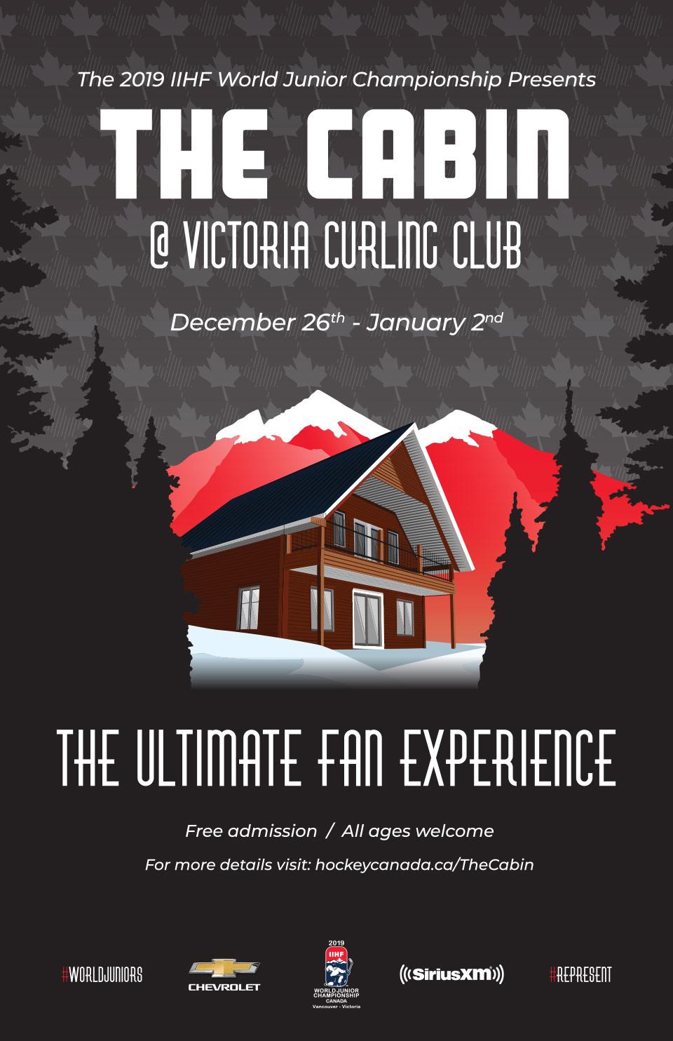 The Cabin in Victoria | 2019 World Junior fan party