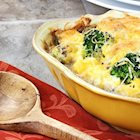 Cheesy Rice and Broccoli Bake