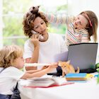 Tips for Staying Productive While Working and Teaching Kids at Home