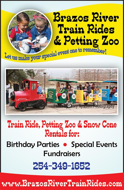Brazos River Train Rides & Petting Zoo