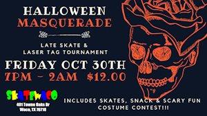 Halloween Masquerade Late Skate - Skate World Waco