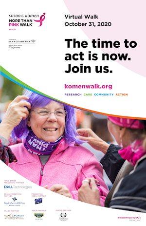 Susan G. Komen Waco MORE THAN PINK Walk