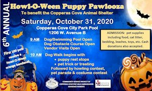 Howl-O-Ween Puppy Pawlooza - Copperas Cove City Park Pool