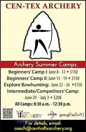 Intermediate/Competitors' Camp - Cen-Tex Archery