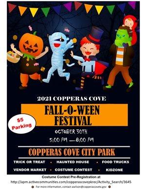 Copperas Cove Fall-O-Ween Festival