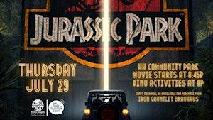 Movie in the Park: Jurassic Park - Harker Heights Community Park