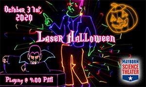 Laser Halloween - Mayborn Science Theater