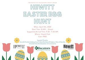 Hewitt Easter Egg Hunt - Hewitt Park