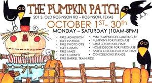 The Pumpkin Patch - Robinson, Tx