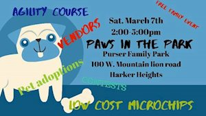 Paws in the Park -  Central Texas Lost & Found Pets