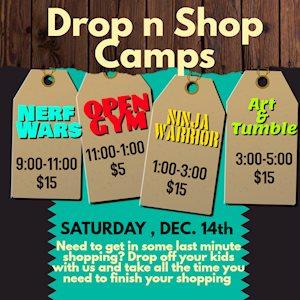 Drop n Shop Camps - HOT Cheer