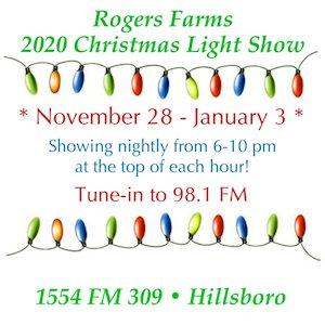 Rogers Farms Christmas Light Show - Hillsboro, TX