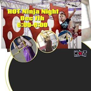 Ninja Night - HOT Cheer
