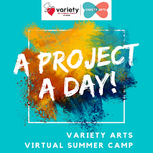 A PROJECT A DAY: Virtual Visual Art Camp