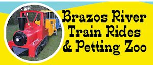 Brazos River Train Rides & Petting Zoo