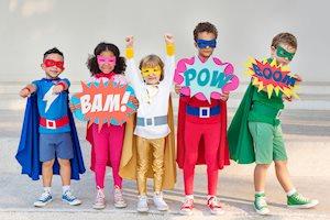 Superhero Training - Heart of Texas Cheer and Dance