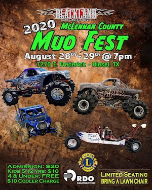 2020 McLennan County Mud Fest