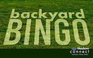 Mayborn Connect: Backyard Bingo