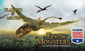Flying Monsters - Mayborn Science Theater