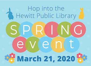 Hop Into Hewitt Public Library