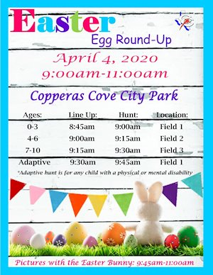 Easter Egg Round Up - Copperas Cove Parks & Recreation