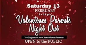 Valentines Parents' Night Out - Heart of Texas Cheer & Dance
