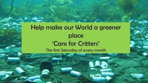 Cans for Critters - Cameron Park Zoo