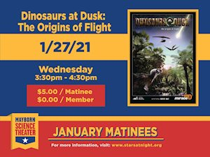 Dinosaurs At Dusk - Mayborn Science Theater