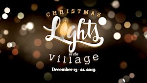 Christmas Lights in the Village - Mayborn Museum
