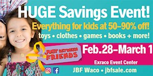 Just Between Friends Spring Sale - Waco