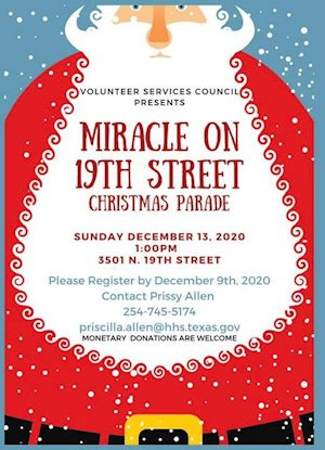 Waco Center for Youth Christmas Parade