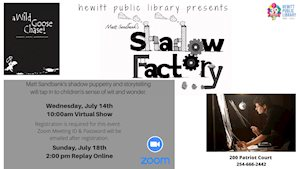 Virtual Event - Hewitt Library Presents Shadow Puppets