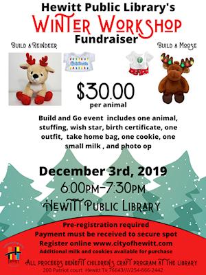 Winter Workshop - Hewitt Public Library