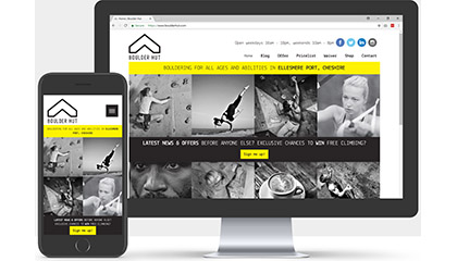 Boulder Hut Website