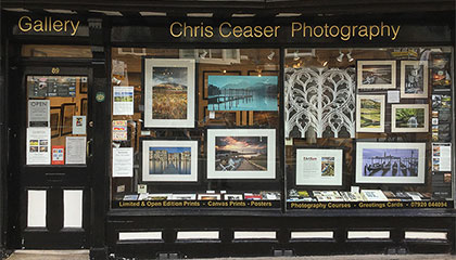 Chris Ceaser Photography Website