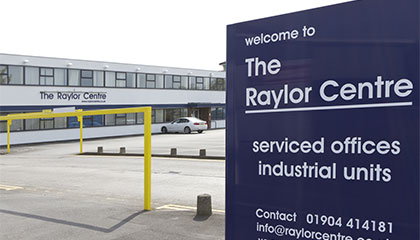 Raylor Centre Website