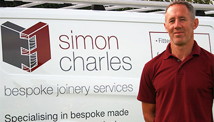 Simon Charles Joinery Website