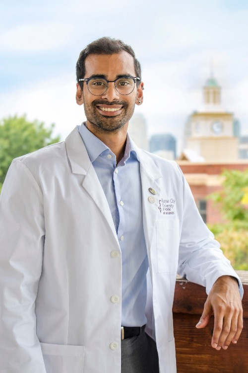 First-year med student Andrew Sulaiman, PhD.